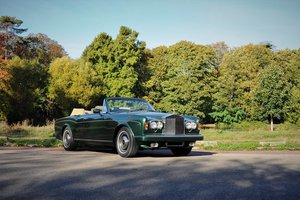 1984 – Rolls-Royce Corniche convertible For Sale by Auction