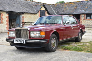 A 1990 Rolls Royce Silver Spirit III - 21/07/2019 For Sale by Auction