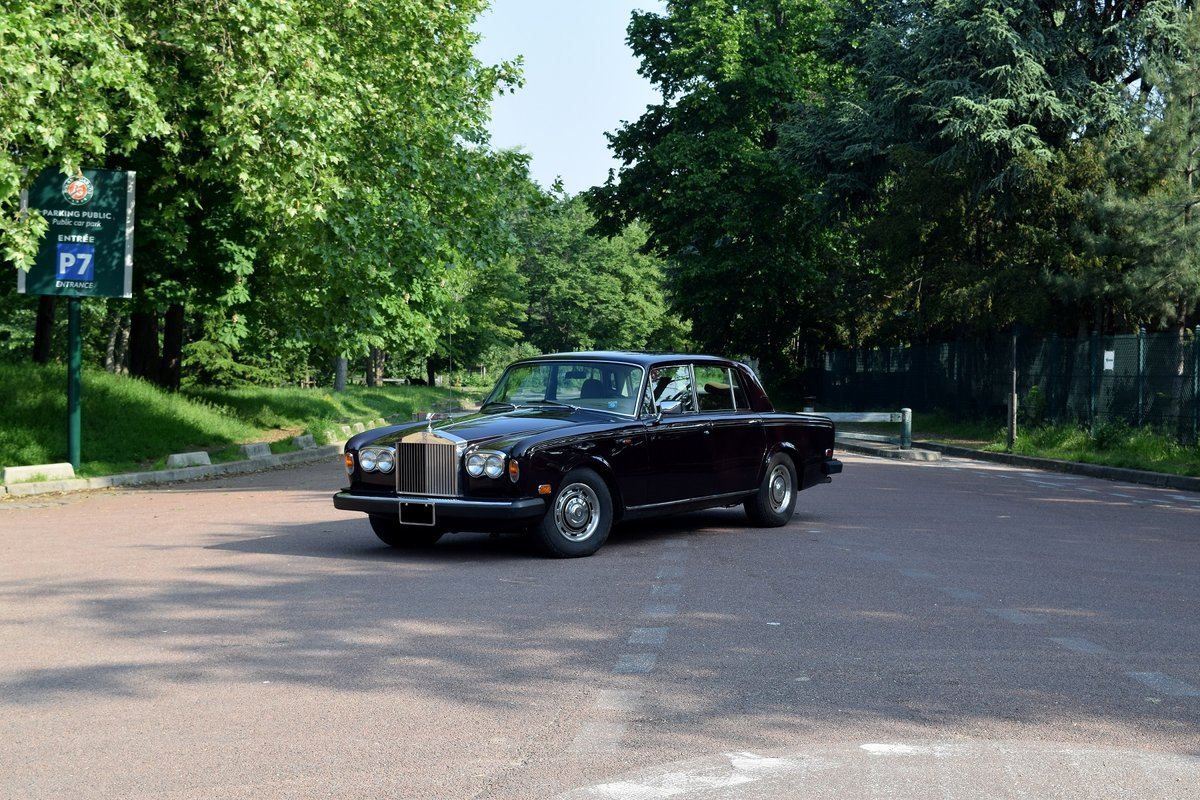 1980 - Rolls-Royce Silver Shadow II SOLD by Auction (picture 1 of 5)