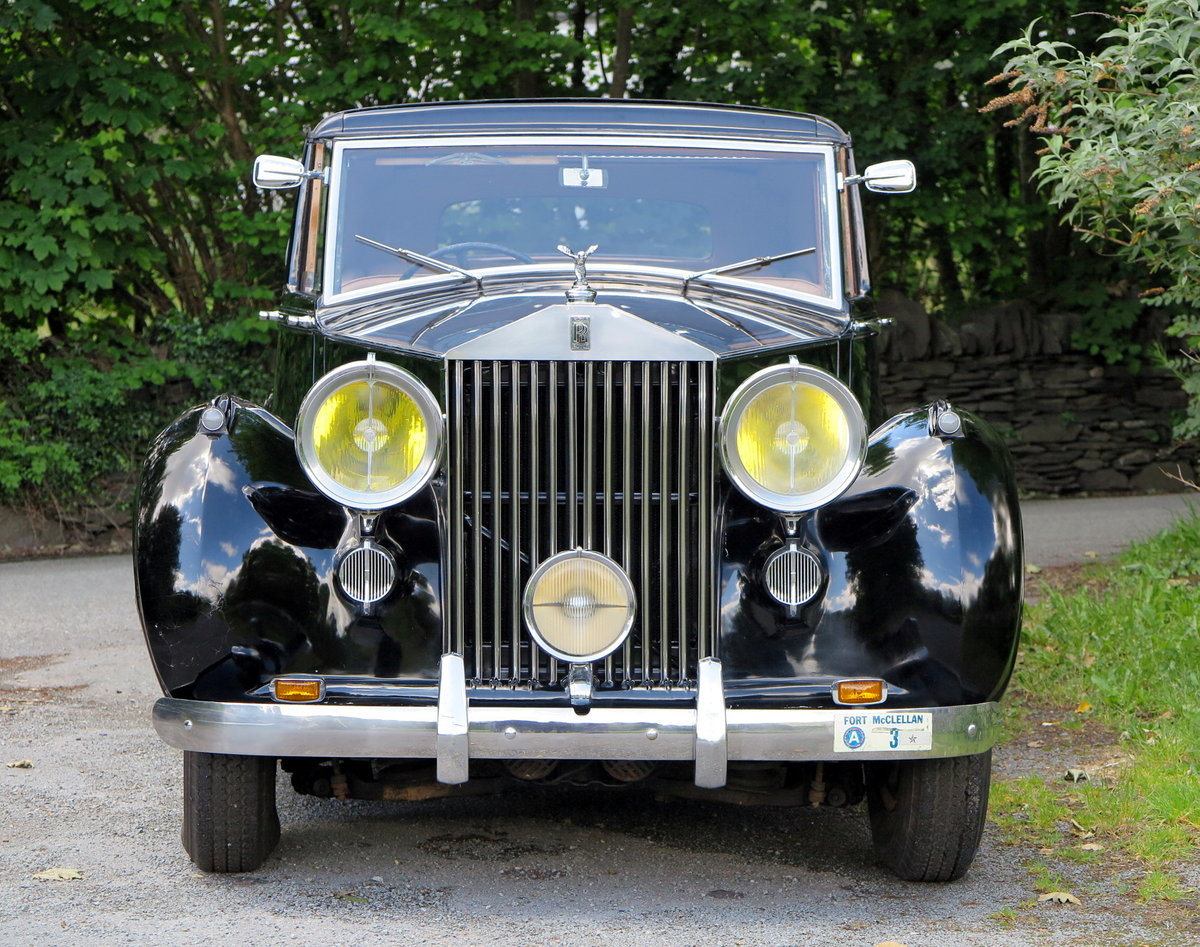 1949 Rolls Royce Silver Wraith Sedanca De Ville Wdc82 For Sale Car And Classic