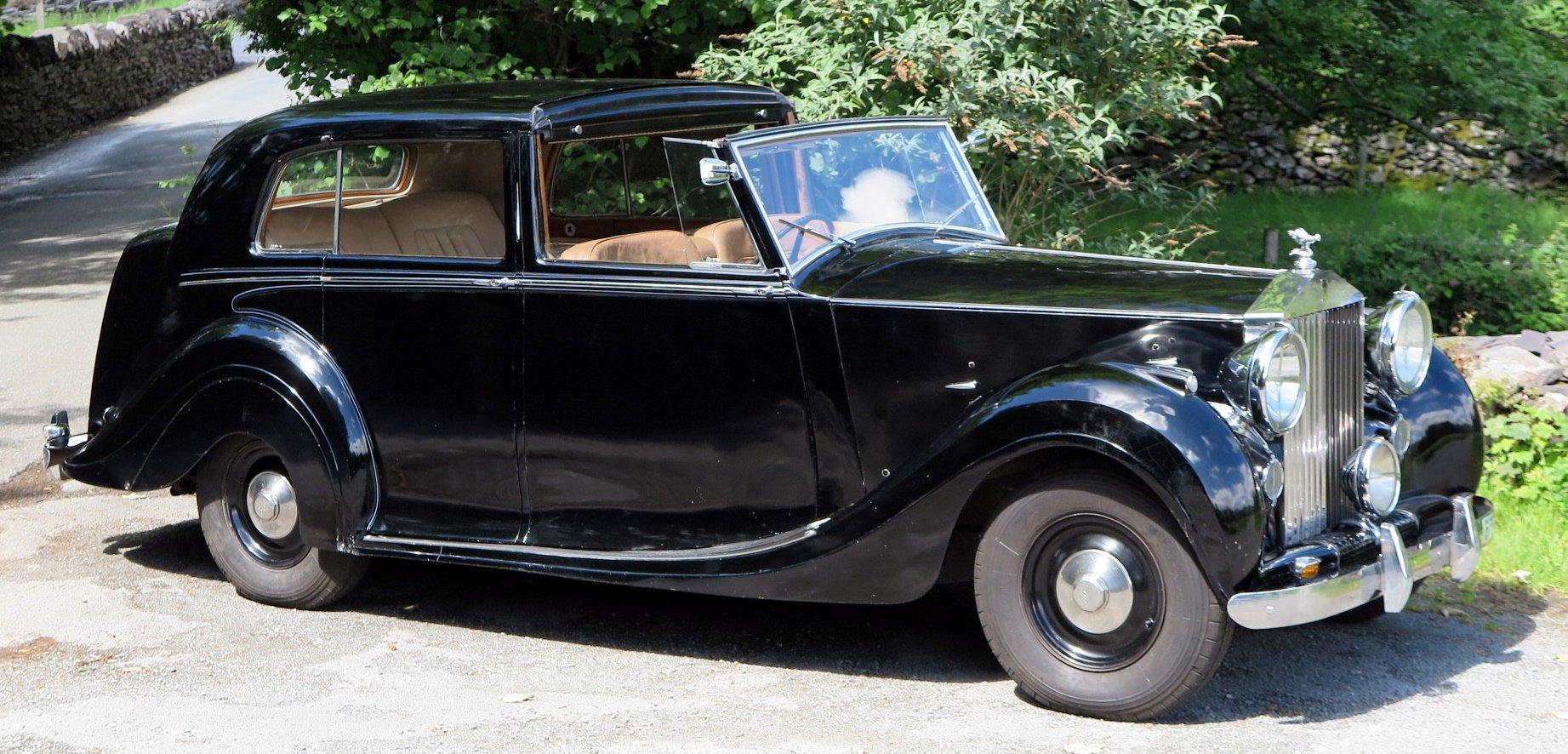 1949 Rolls-Royce Silver Wraith Sedanca de Ville WDC82 For Sale (picture 2 of 6)