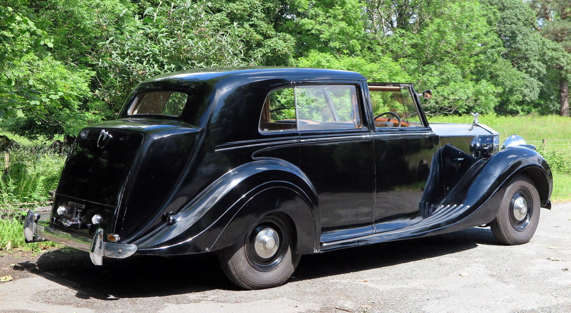 1949 Rolls-Royce Silver Wraith Sedanca de Ville WDC82 For Sale (picture 3 of 6)