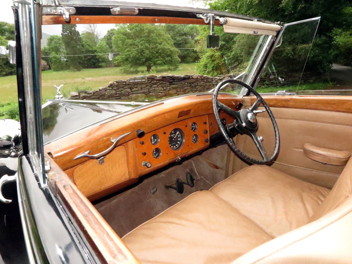 1949 Rolls-Royce Silver Wraith Sedanca de Ville WDC82 For Sale (picture 4 of 6)