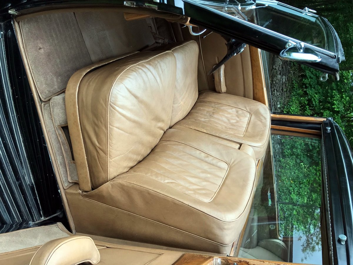 1949 Rolls-Royce Silver Wraith Sedanca de Ville WDC82 For Sale (picture 5 of 6)