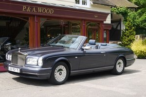 Rolls-Royce Corniche V Convertible LHD. October 2002
