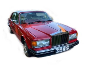 1986 Rolls Royce Silver Spirit - Auction 13th June SOLD by Auction
