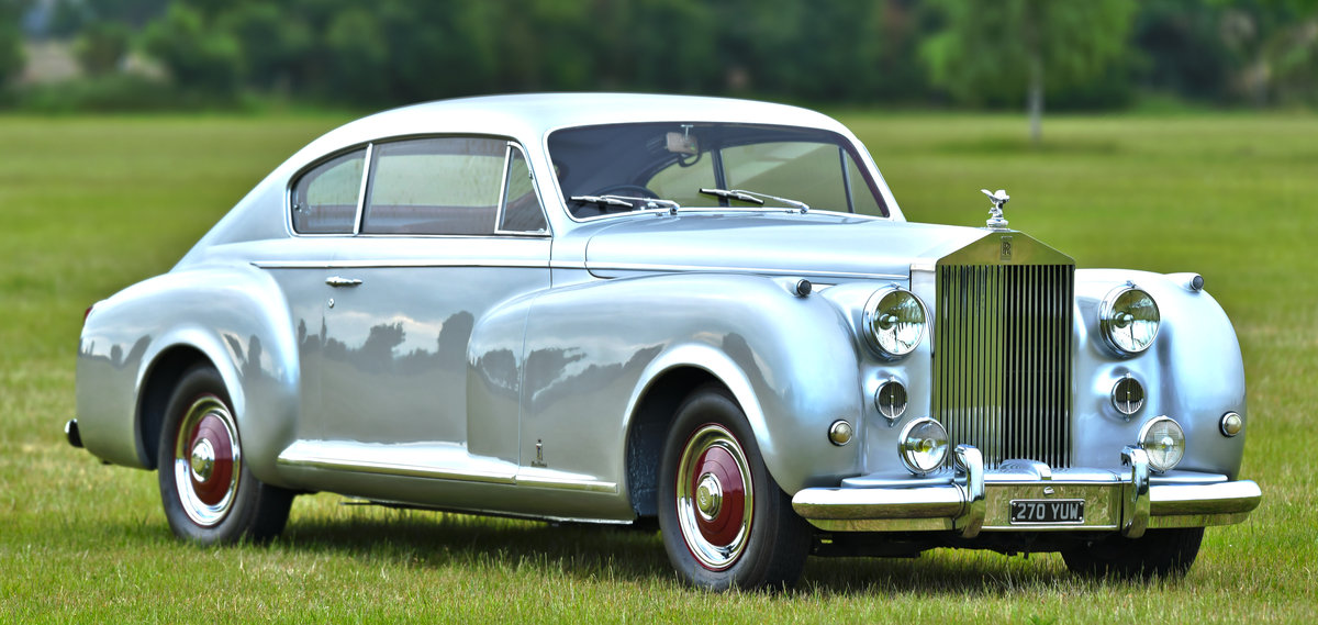 1951 Rolls-Royce Silver Dawn Fastback Coupé Coachwork by Pin For Sale (picture 1 of 6)