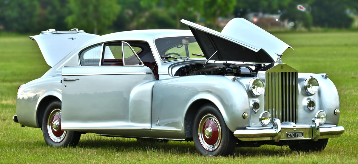 1951 Rolls-Royce Silver Dawn Fastback Coupé Coachwork by Pin For Sale (picture 6 of 6)