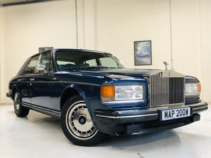 1991 ROLLS ROYCE SILVER SPIRIT II - LOW MILEAGE, STUNNING SOLD
