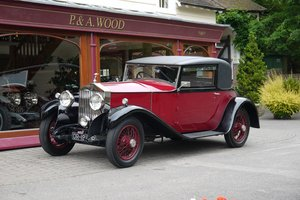Rolls-Royce 20/25 1929 Sports Coupe by Hooper For Sale