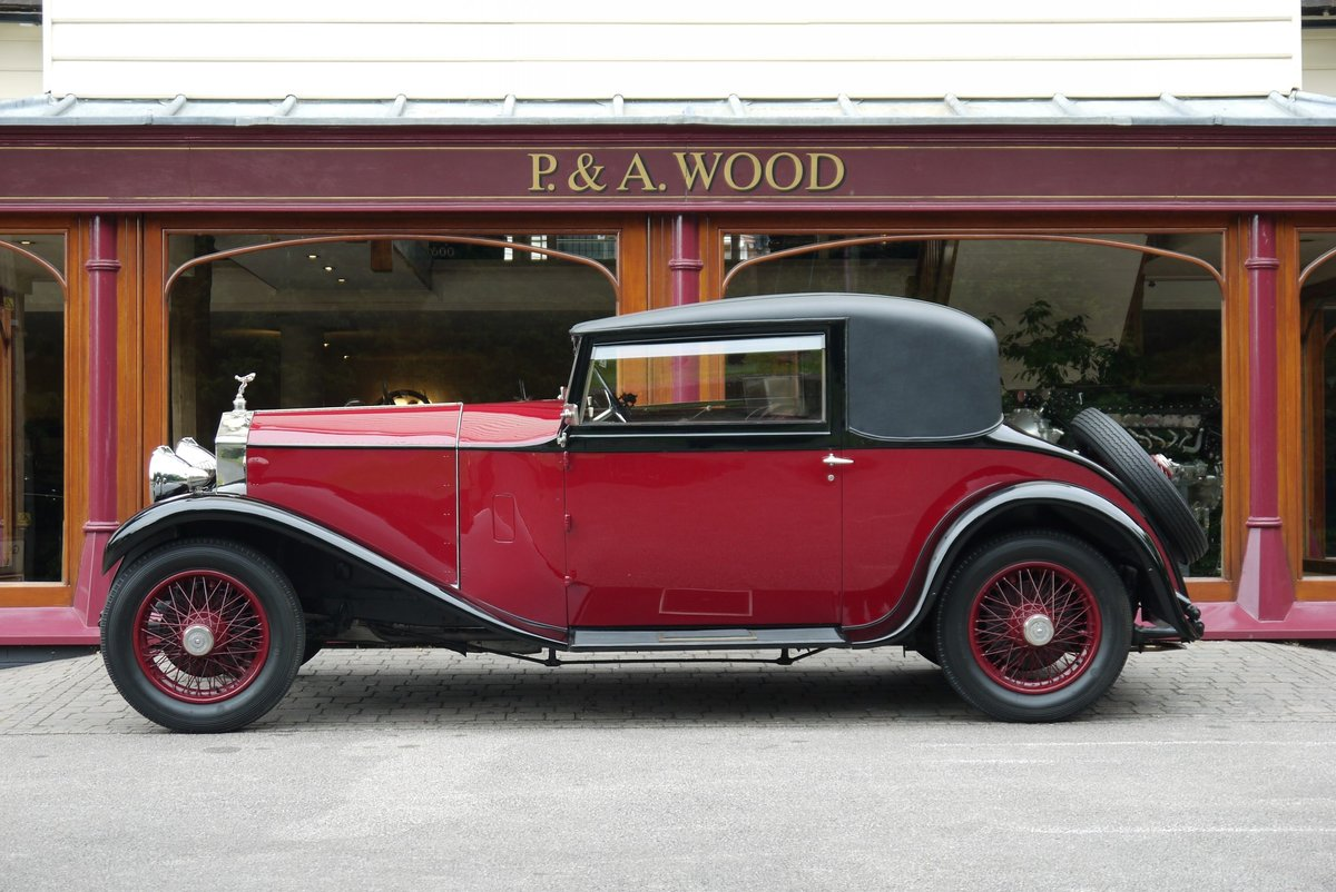 Rolls-Royce 20/25 1929 Sports Coupe by Hooper For Sale (picture 2 of 4)