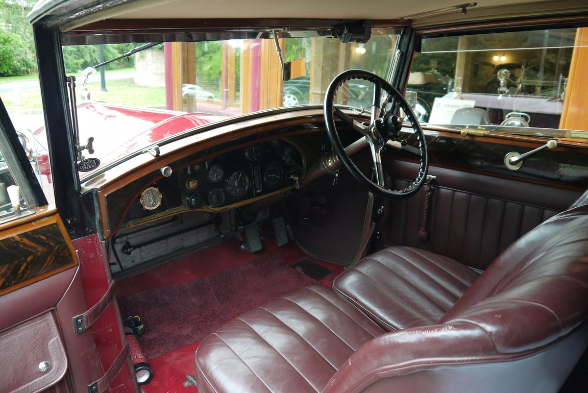 Rolls-Royce 20/25 1929 Sports Coupe by Hooper For Sale (picture 3 of 4)