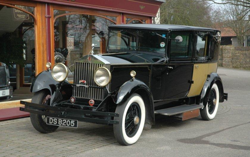 Rolls-Royce 20/25 1930 Sedanca De Ville by Frederick R. Wood For Sale (picture 1 of 4)