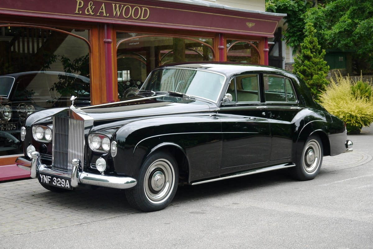 Rolls-Royce Silver Cloud III 1963 LHD Standard Saloon For Sale (picture 1 of 4)