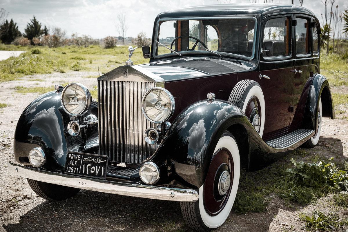 1955 Rolls Royce Phantom III King Farouk's car For Sale (picture 1 of 6)