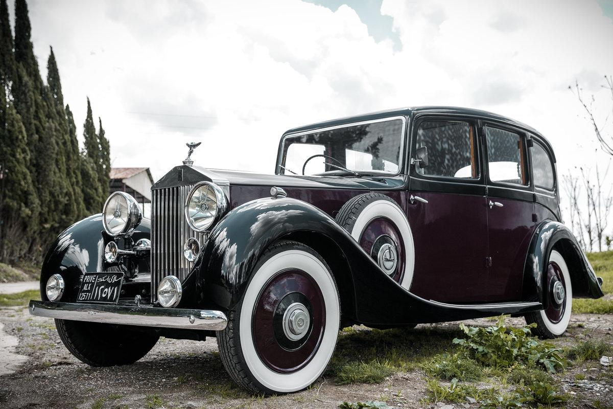 1955 Rolls Royce Phantom III King Farouk's car For Sale (picture 3 of 6)