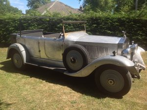 1934 Rolls Royce 20/25 tourer unfinished project For Sale