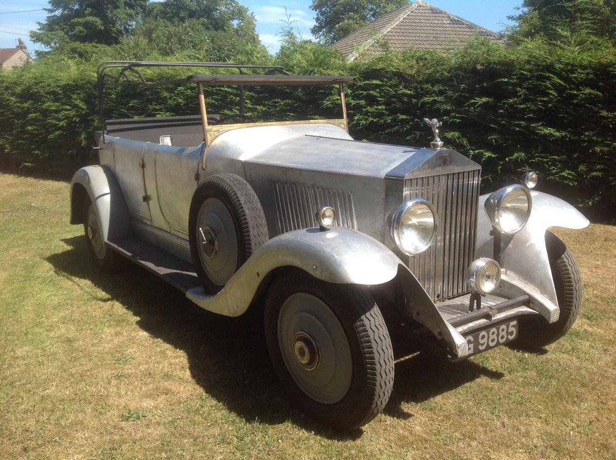 1934 Rolls Royce 20/25 tourer unfinished project SOLD (picture 2 of 4)