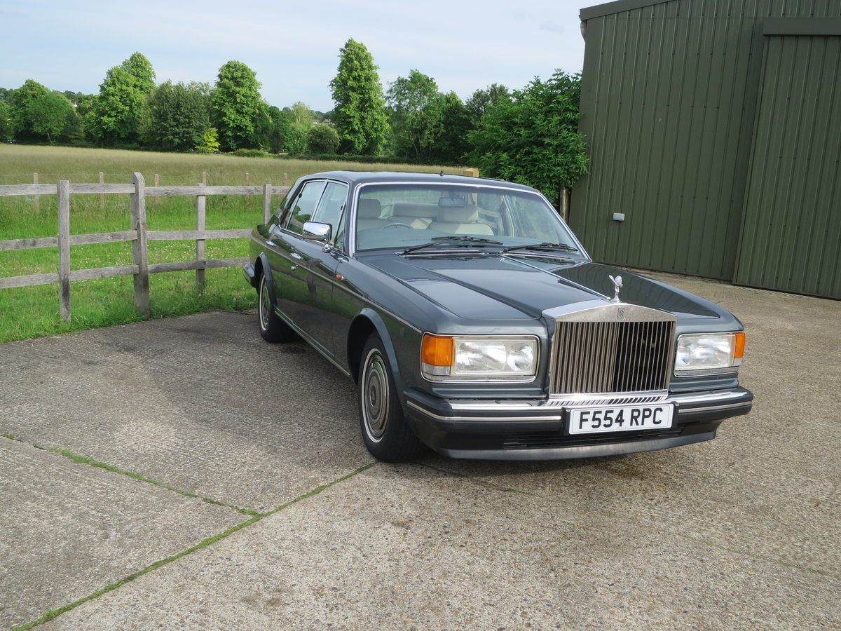 1989 Rolls-Royce Silver Spirit SOLD (picture 1 of 6)