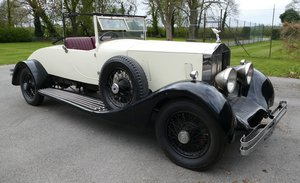 1929 Rolls Royce Phantom I 40/50 hp, 7,668 cc.  For Sale by Auction