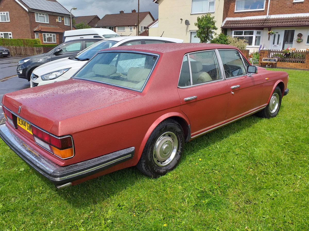 1985 Rolls Royce Silver Spirit For Sale (picture 3 of 6)
