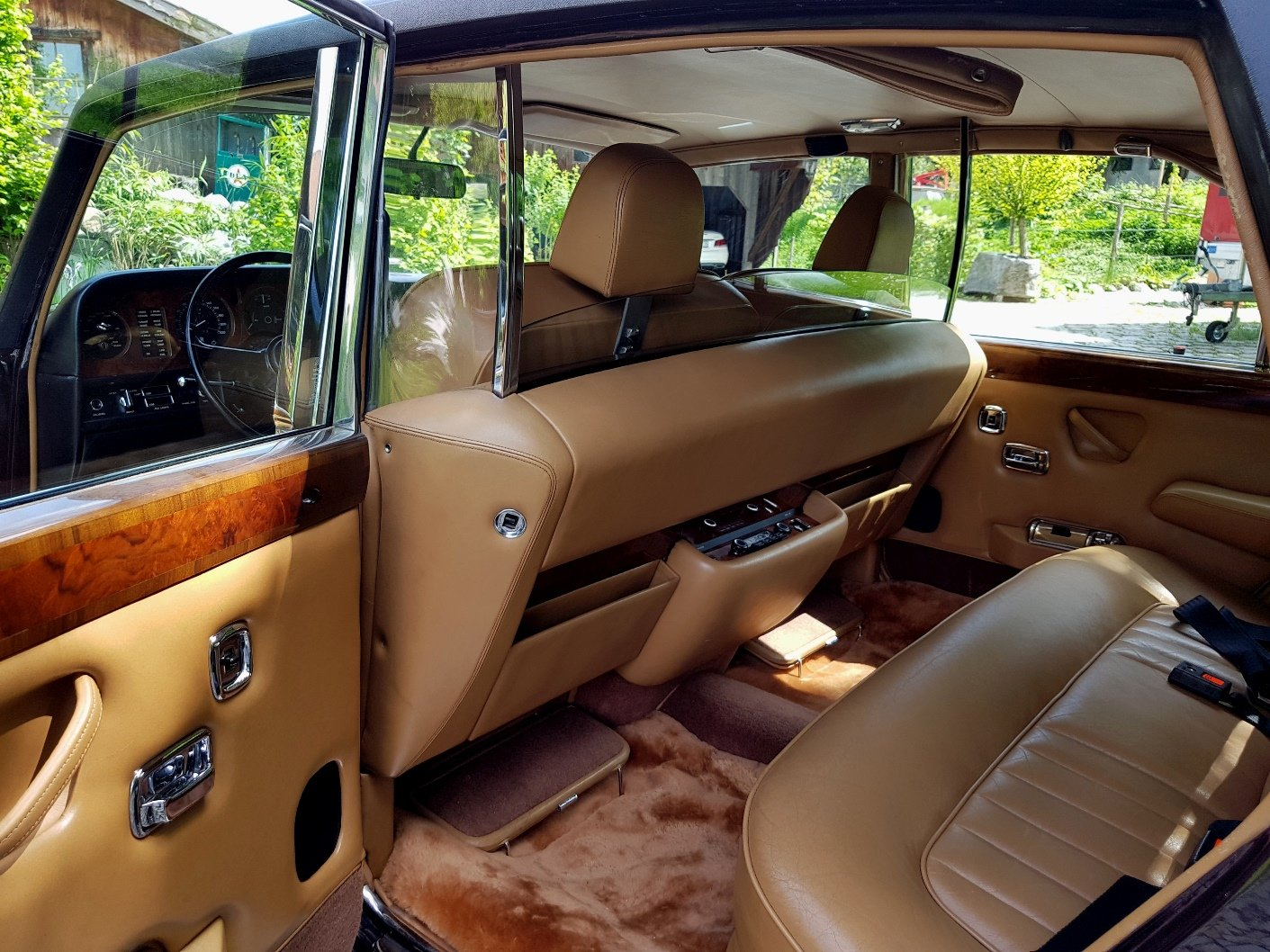 1980 Rolls Royce Silver Wraith II, electric division For Sale (picture 3 of 6)
