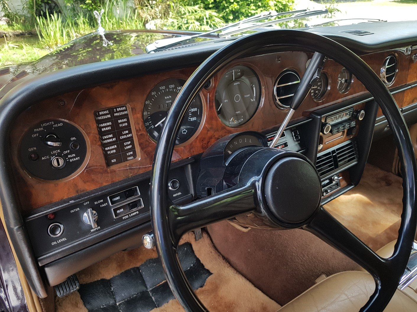 1980 Rolls Royce Silver Wraith II, electric division For Sale (picture 6 of 6)