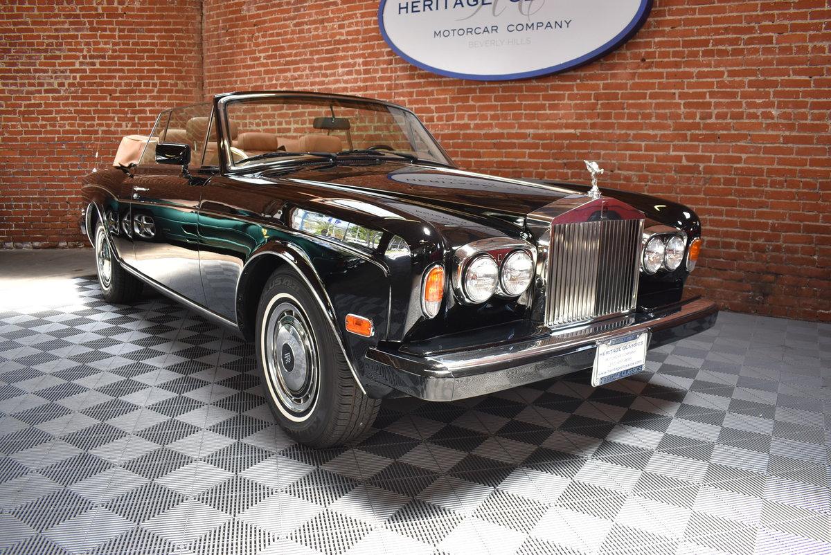 1991 Rolls Royce Corniche For Sale (picture 1 of 6)
