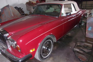 1980 Rolls Royce Corniche Convertible $35000 USD For Sale