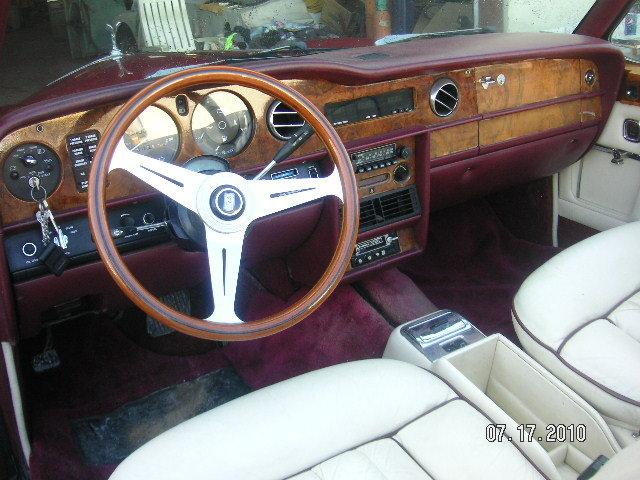 1980 Rolls Royce Corniche Convertible  For Sale (picture 5 of 6)