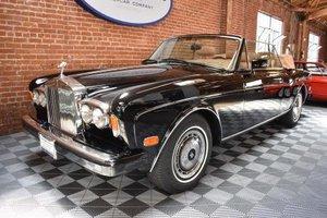1991 Rolls Royce Corniche = clean Black(~)Tan LHD $79.5k  For Sale