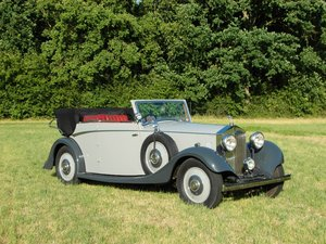 Rolls-Royce 20/25 convertible by Windovers, rhd, 1934