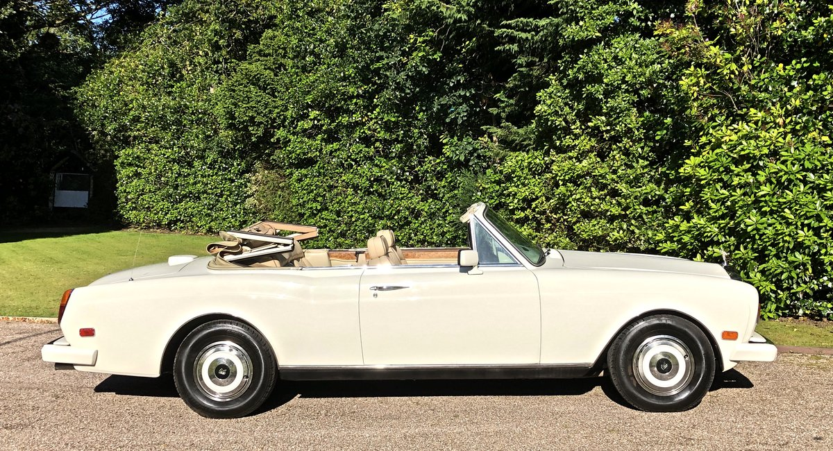1988 ROLLS ROYCE CORNICHE CONVERTIBLE MKII      LHD For Sale (picture 3 of 6)
