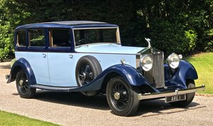 1934 ROLLS ROCYE PHANTOM II Park Ward Limousine For Sale