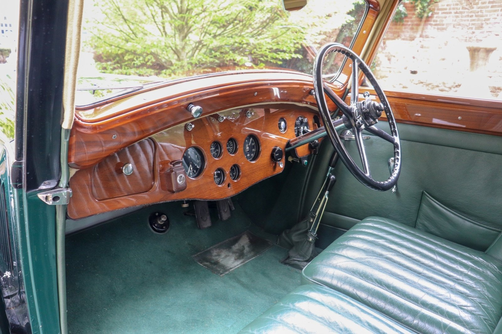 1935 Osbourne Bodied 4 Door 6 Light Sports Touring Saloon For Sale (picture 6 of 6)