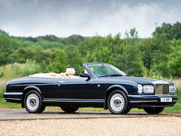 2000 ROLLS-ROYCE CORNICHE V CONVERTIBLE For Sale by Auction