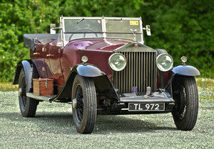 1930 Rolls Royce Phantom Barrel sided 2 Tourer by Wilkinsons For Sale