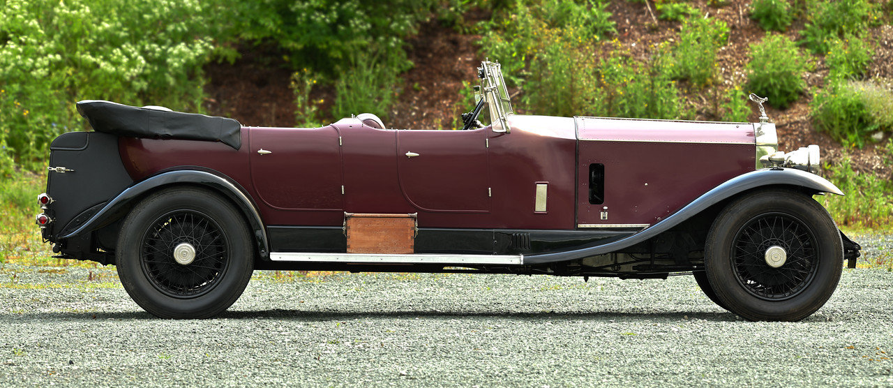 1930 Rolls Royce Phantom Barrel sided 2 Tourer by Wilkinsons SOLD (picture 2 of 6)