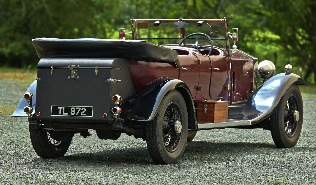 1930 Rolls Royce Phantom Barrel sided 2 Tourer by Wilkinsons SOLD (picture 3 of 6)