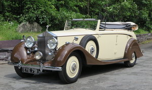 1938 Rolls-Royce 25/30 Park Ward 4 Dr  Cabriolet GGR54 For Sale