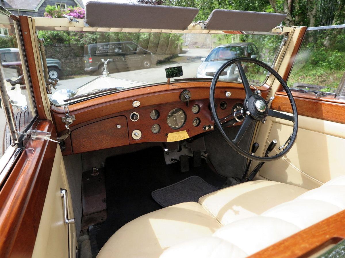 1938 Rolls-Royce 25/30 Park Ward 4 Dr  Cabriolet GGR54 For Sale (picture 4 of 6)