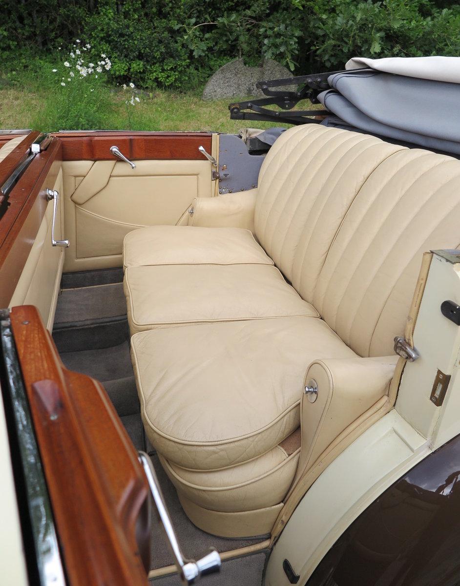 1938 Rolls-Royce 25/30 Park Ward 4 Dr  Cabriolet GGR54 For Sale (picture 6 of 6)