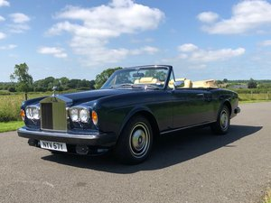 1982 Rolls Royce Corniche Convertible SOLD