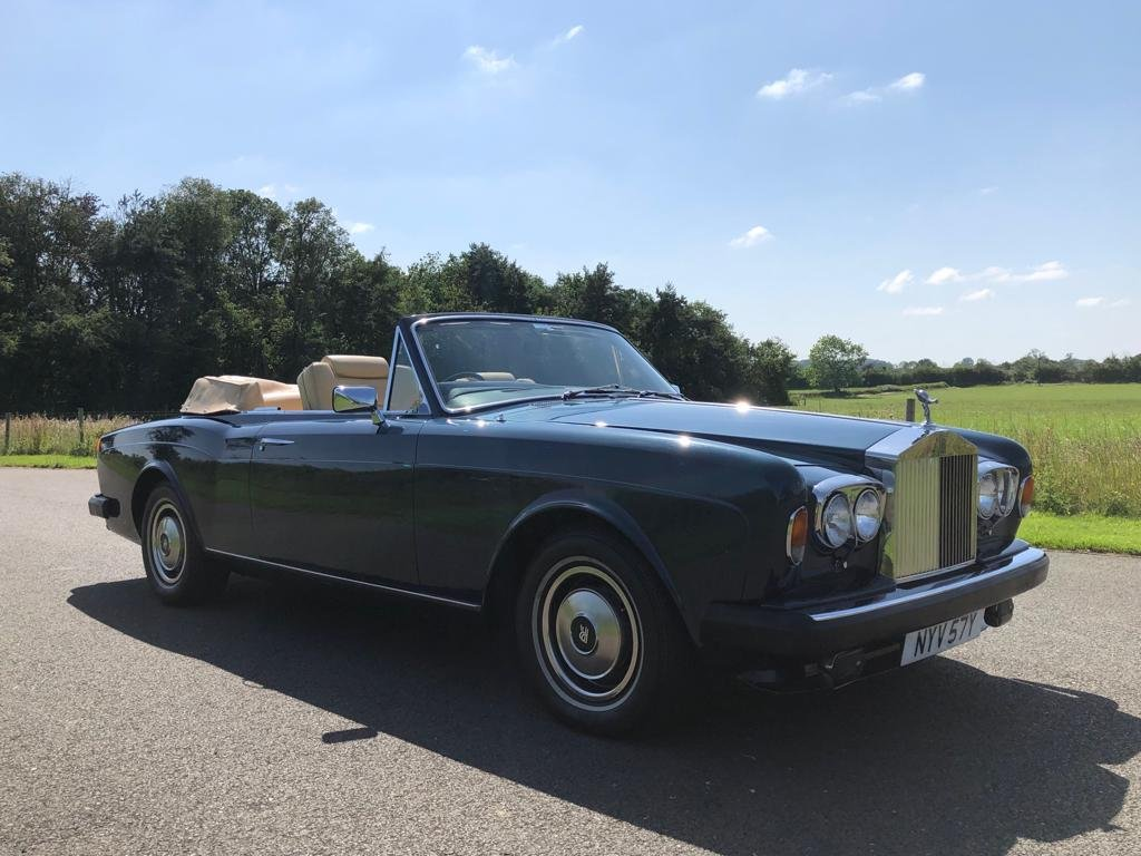 1982 Rolls Royce Corniche Convertible For Sale (picture 3 of 6)