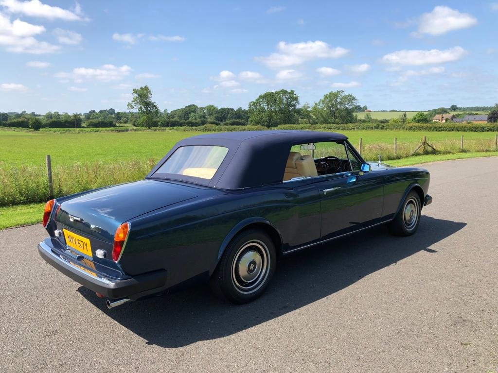 1982 Rolls Royce Corniche Convertible For Sale (picture 4 of 6)