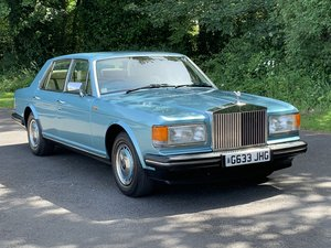 1989 Rolls Royce Silver Spirit. Only 20,000 Miles. For Sale