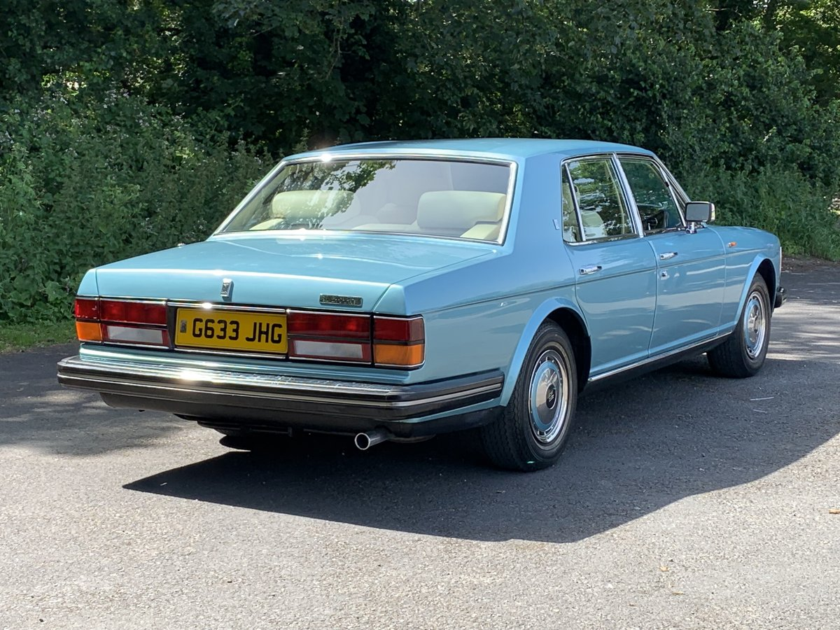 1989 Rolls Royce Silver Spirit. Only 20,000 Miles. For Sale (picture 2 of 6)