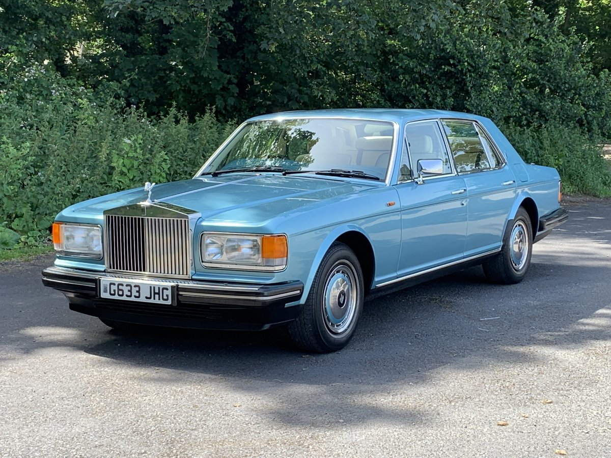 1989 Rolls Royce Silver Spirit. Only 20,000 Miles. For Sale (picture 3 of 6)