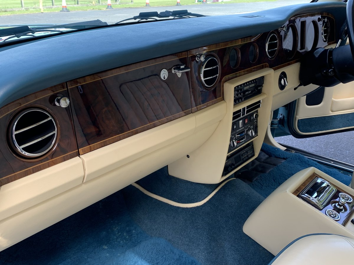1989 Rolls Royce Silver Spirit. Only 20,000 Miles. For Sale (picture 5 of 6)