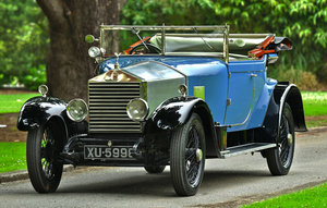 1924 Rolls-Royce 20hp Barker Dr's Coupe For Sale